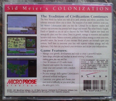 Colonization-Create A New Nation